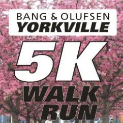 Bang & Olufsen 5K Yorkville run