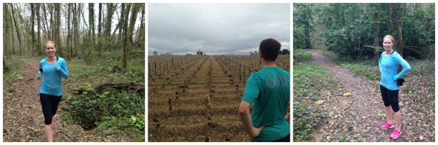 Wine and running. Together at last.