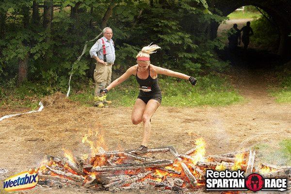 Fire jump - Spartan Sprint